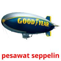 pesawat seppelin picture flashcards
