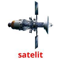 satelit picture flashcards