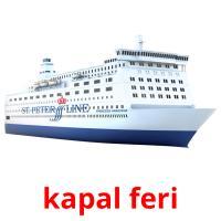 kapal feri picture flashcards