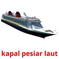 kapal pesiar laut picture flashcards