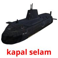 kapal selam picture flashcards