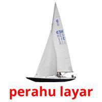perahu layar picture flashcards