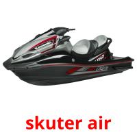 skuter air picture flashcards