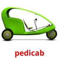 pedicab picture flashcards