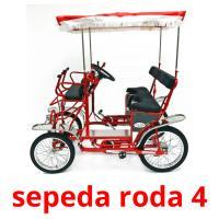 sepeda roda 4 picture flashcards