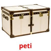 peti picture flashcards