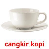 cangkir kopi picture flashcards