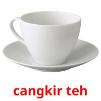 cangkir teh picture flashcards