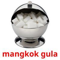 mangkok gula picture flashcards