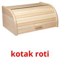 kotak roti picture flashcards