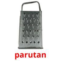 parutan picture flashcards