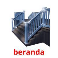 beranda picture flashcards