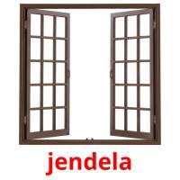 jendela picture flashcards