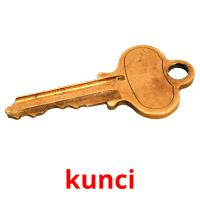 kunci picture flashcards