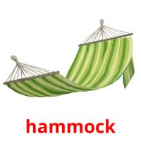hammock picture flashcards