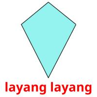 layang layang picture flashcards