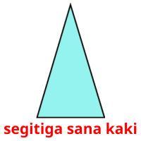 segitiga sana kaki picture flashcards