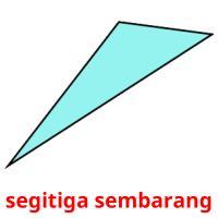 segitiga sembarang picture flashcards
