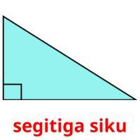 segitiga siku picture flashcards