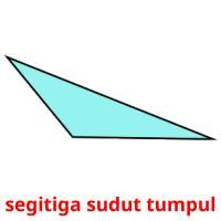 segitiga sudut tumpul picture flashcards