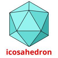 icosahedron picture flashcards