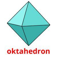 oktahedron picture flashcards