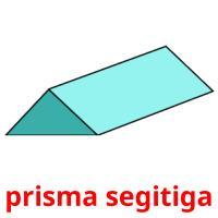 prisma segitiga picture flashcards