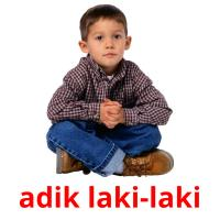 adik laki-laki picture flashcards