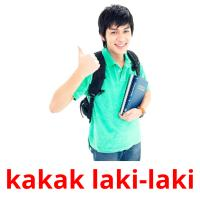 kakak laki-laki picture flashcards