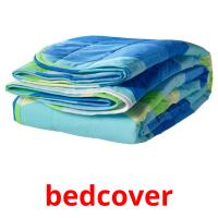 bedcover picture flashcards