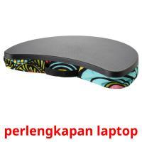 perlengkapan laptop picture flashcards