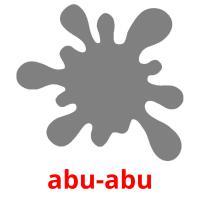 abu-abu picture flashcards