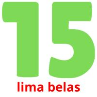 lima belas picture flashcards