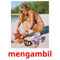 mengambil picture flashcards