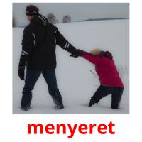 menyeret picture flashcards
