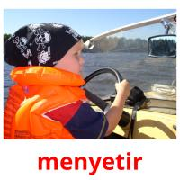 menyetir picture flashcards