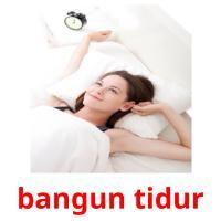 bangun tidur picture flashcards
