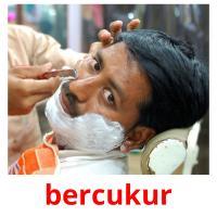 bercukur picture flashcards