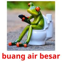 buang air besar picture flashcards