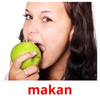 makan picture flashcards