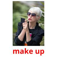 make up picture flashcards