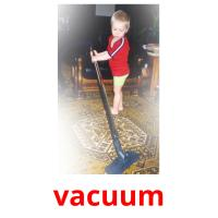 vacuum picture flashcards