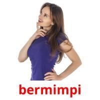 bermimpi picture flashcards