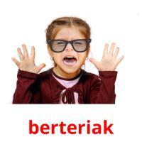 berteriak picture flashcards