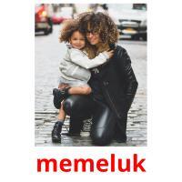 memeluk picture flashcards
