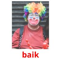 baik picture flashcards
