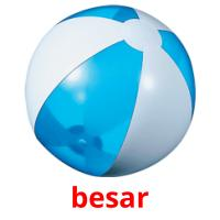besar picture flashcards