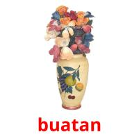 buatan picture flashcards