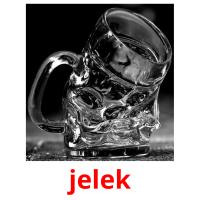 jelek picture flashcards