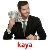 kaya picture flashcards